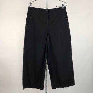 Eileen Fisher Black Crop Pants